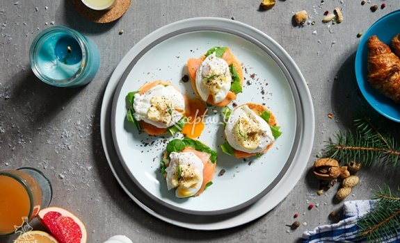 Benedikto kiaušiniai su ZIGMO lašiša