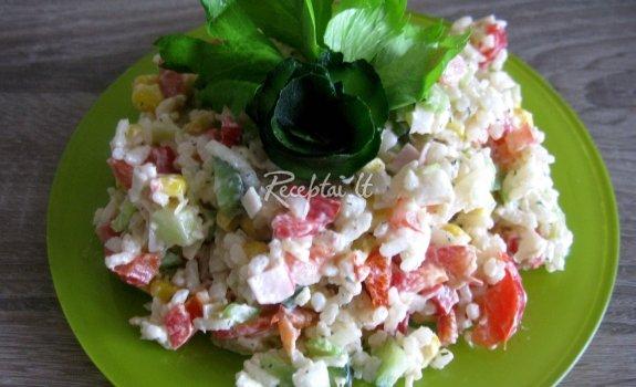 Ryžių salotos