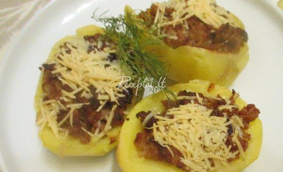 Kalakutiena bulvių geldelėse