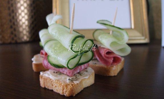Vieno kąsnio sumuštinukai