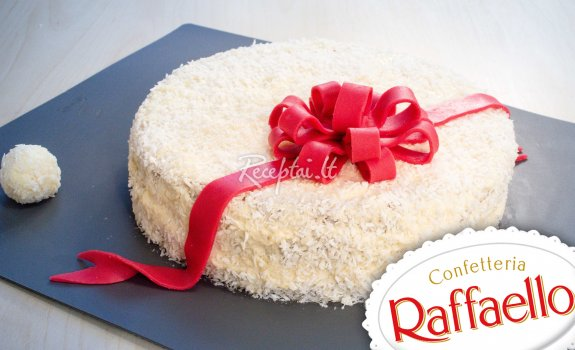 Naminis Raffaello tortas