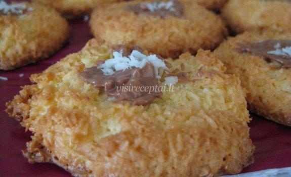 Gardūs kokosiniai sausainiukai