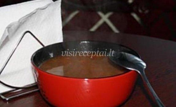Gardi moliūgų sriuba