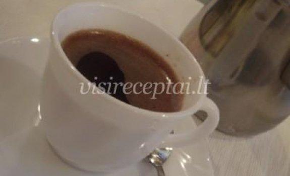 Kava su kadagio uogomis