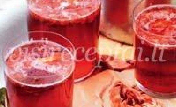 Žemuogių gėrimas