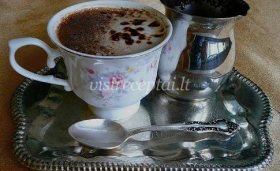 Kava su romu