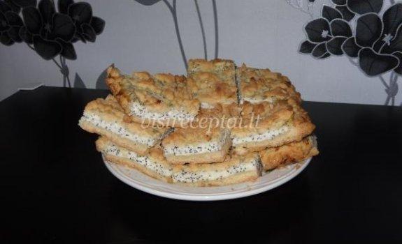 Evelinos varškės pyragas