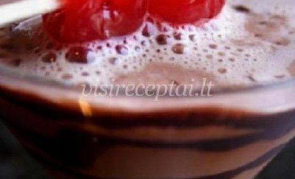 Šokoladinis kokteilis