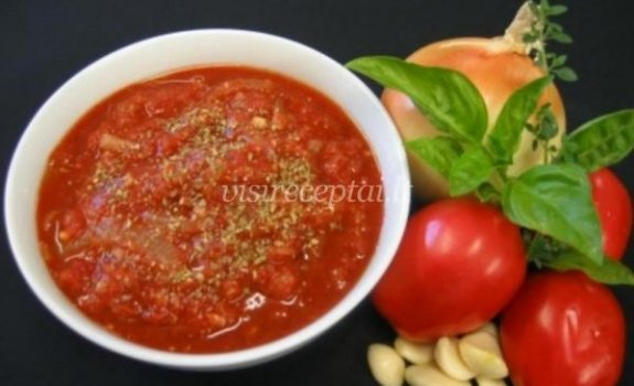 Graikiškas pomidorų padažas
