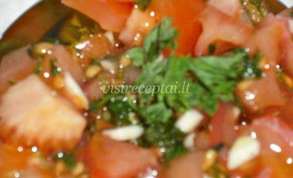 Ispaniškos pomidorų salotos