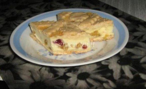 Pyragas su varškės įdaru