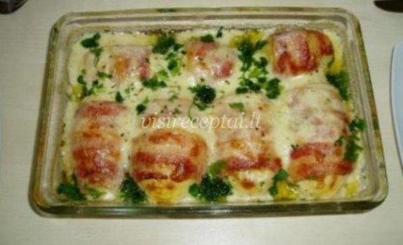 Bulvių patiekalas