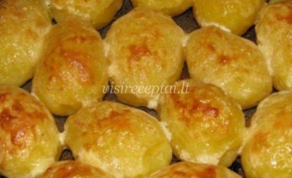Bulvės su grietine ir sūriu