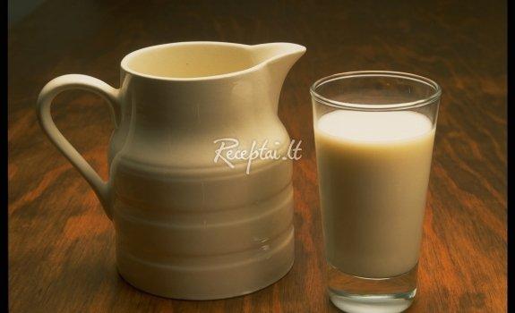 Sauso pieno kisielius