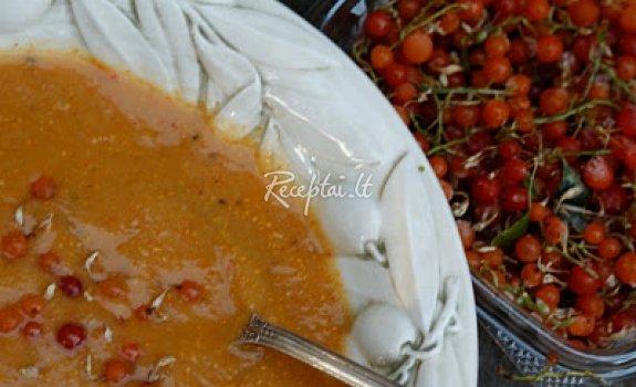 Obuolių ir kriaušių sriuba