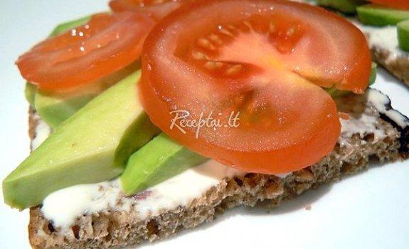 Vegetariškas sumuštinis