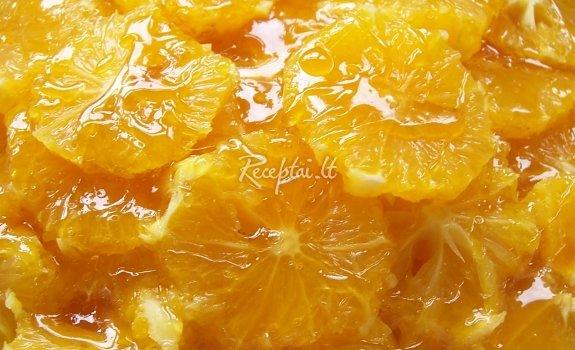 Apelsinų desertas