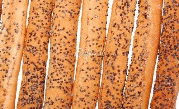 Piršteliai su aguonomis