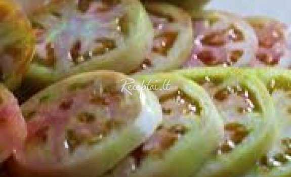 Mišrainė iš žalių pomidorų