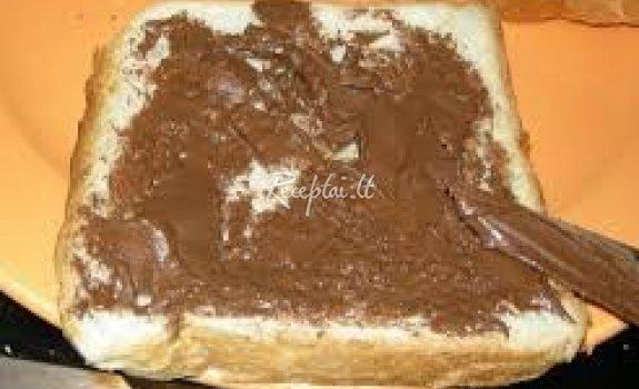 Naminis šokoladinis kremas