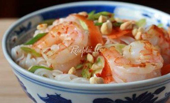 Tailandietiškos ryžių salotos