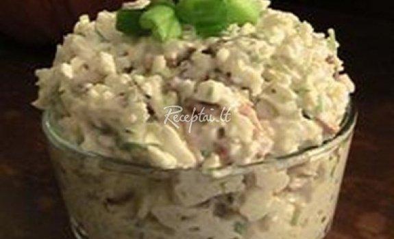 Arvydo kalafiorų ir paprikos salotos