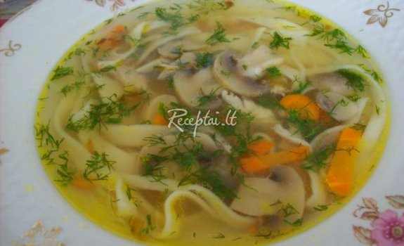 Daržovių-vištienos sriuba