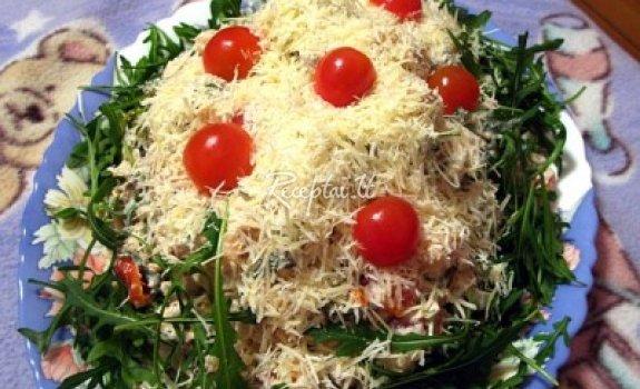 Šventiškos salotos su argulomis