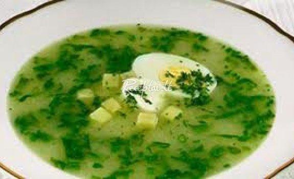 Šalta bulvių sriuba