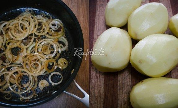 Padažas virtoms bulvėms