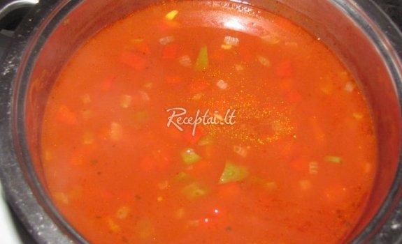 Pomidorinė sriuba