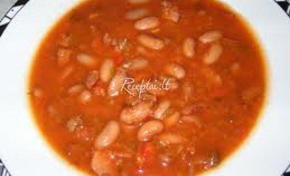 Pupelių sriuba