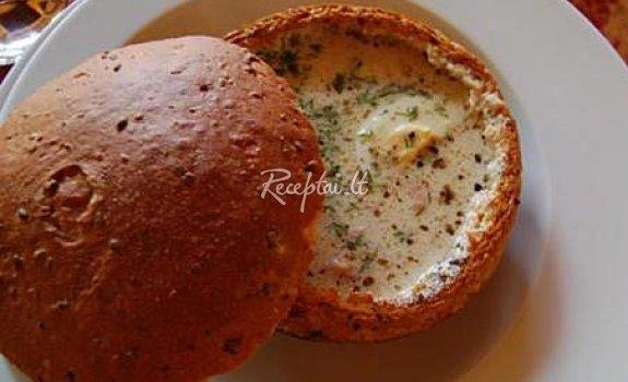Valstietiška duonos sriuba