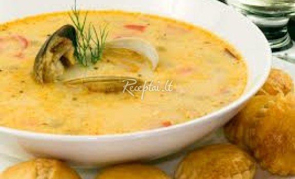 Austrių sriuba