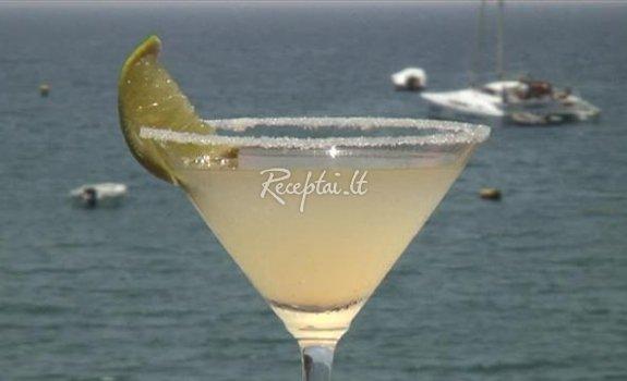 Kokteilio Margarita gaminimas