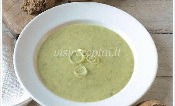 Trinta porų ir bulvių sriuba