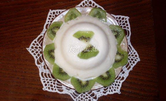 Jogurtinių  ledų tortukas