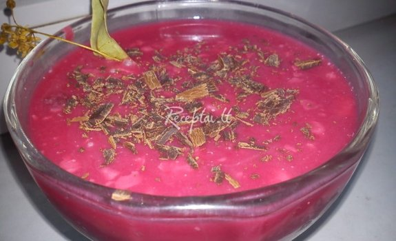 Vyšnių ledinė sriuba