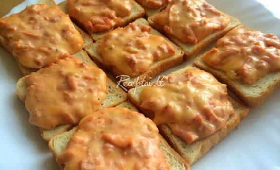 Labai lengvai pagaminami pikantiški sumuštinukai