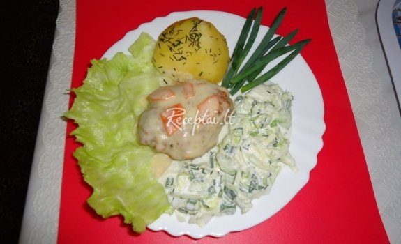 Tradiciniai kotletai su majonezu