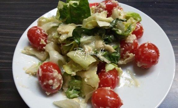 Cezario salotos su majonezu (pagal Kristiną)