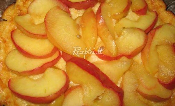 Varškėtis su obuoliais