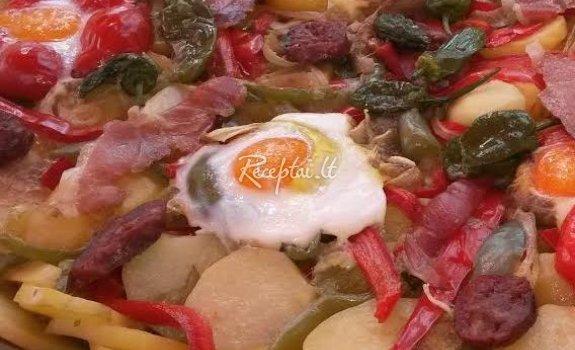 """Kiaušinienė"" pietums"