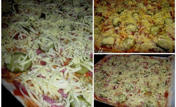 Pica lavaše jaukiems žiemos vakaras