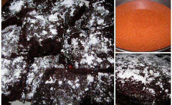 Drėgnas šokoladinis pyragas