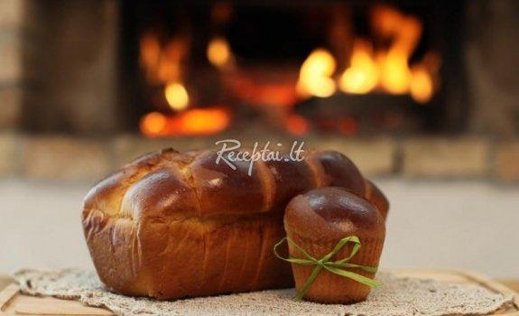 Prancūziška duona Brioche